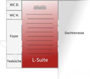 Grundriss L-Suite