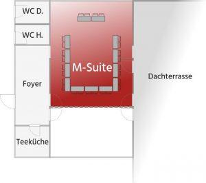 Grundriss M-Suite