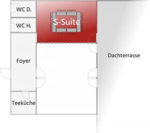 Grundriss S-suite